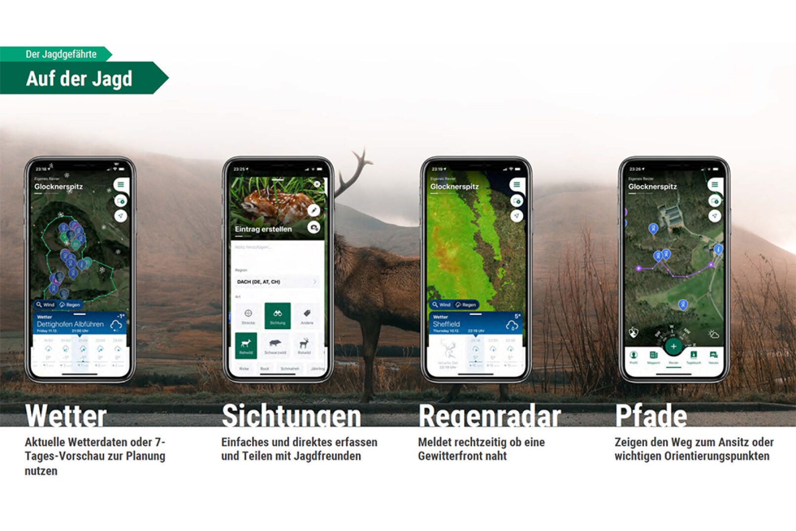 WEIDWERK-Kooperation mit Hunter & Co