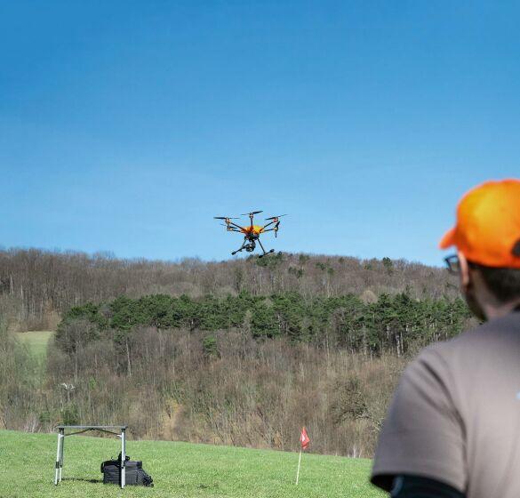 Kitzrettung mit der Drohne – spektakulAIR! - © Barbara Marko