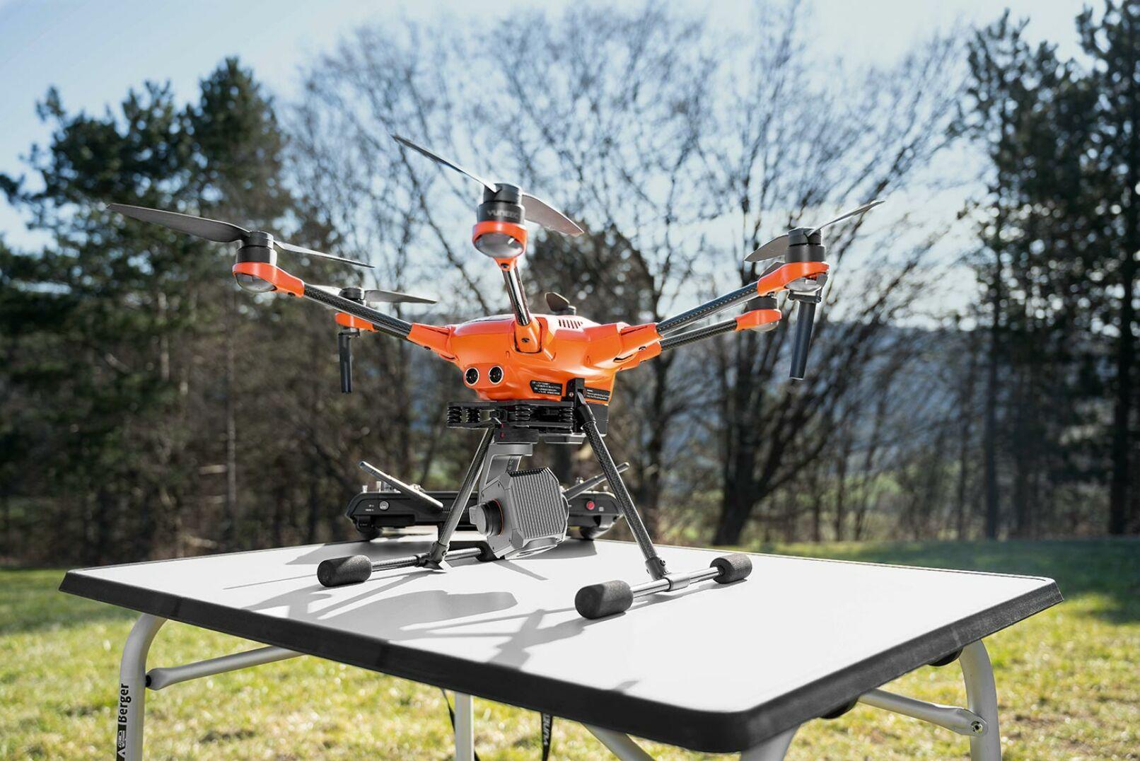 Hexacopter Yuneec H520E mit Wärmebildkamera Yuneec ETX (FLIR) - © Barbara Marko