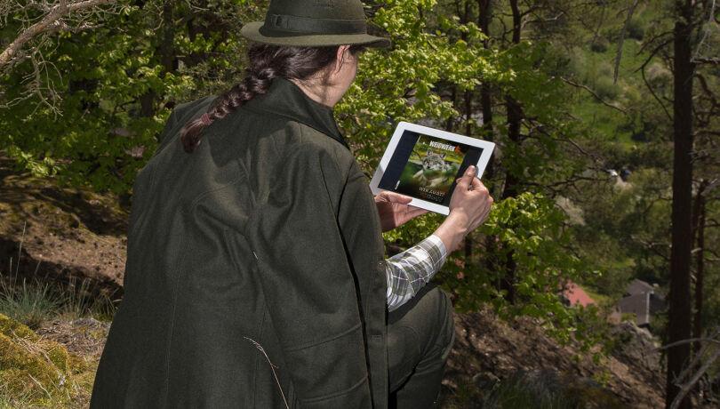 Mit der neuen WEIDWERK-App immer top informiert! - © Christoph Burgstaller