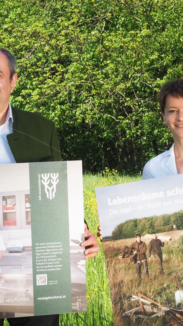 Neue Kampagne des NÖ Jagdverbandes macht die Leistungen der Jägerschaft sichtbar - © NÖ Jagdverband