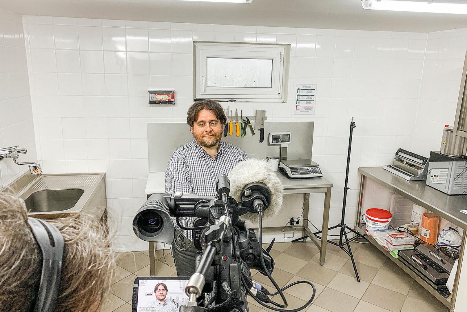 Ao. Univ.-Prof. Dr. Peter Paulsen vom Institut für Lebensmittelsicherheit der Vet.-Med. Univ. Wien