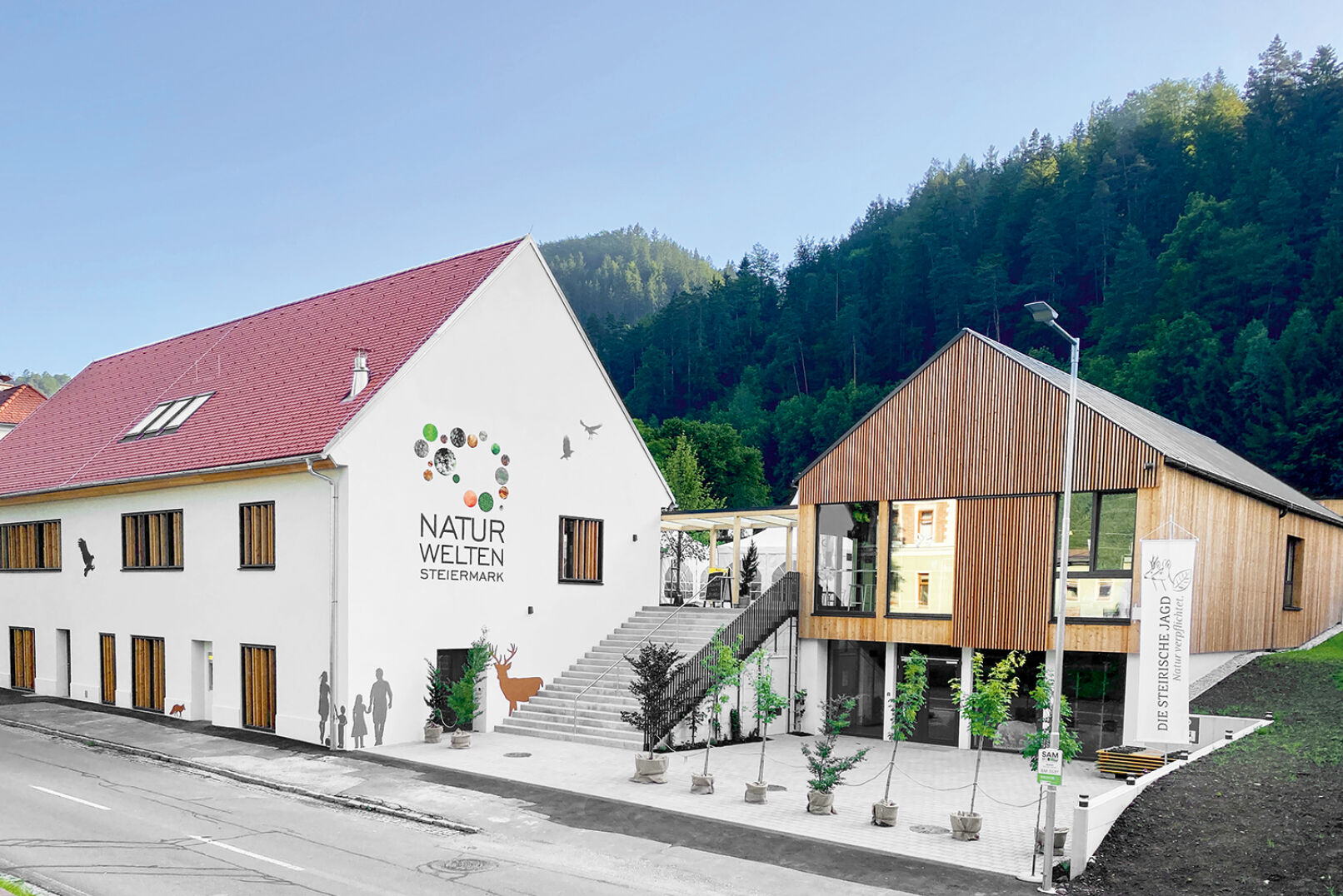 Modern und dennoch mit altem Flair präsentieren sich die Naturwelten Steiermark