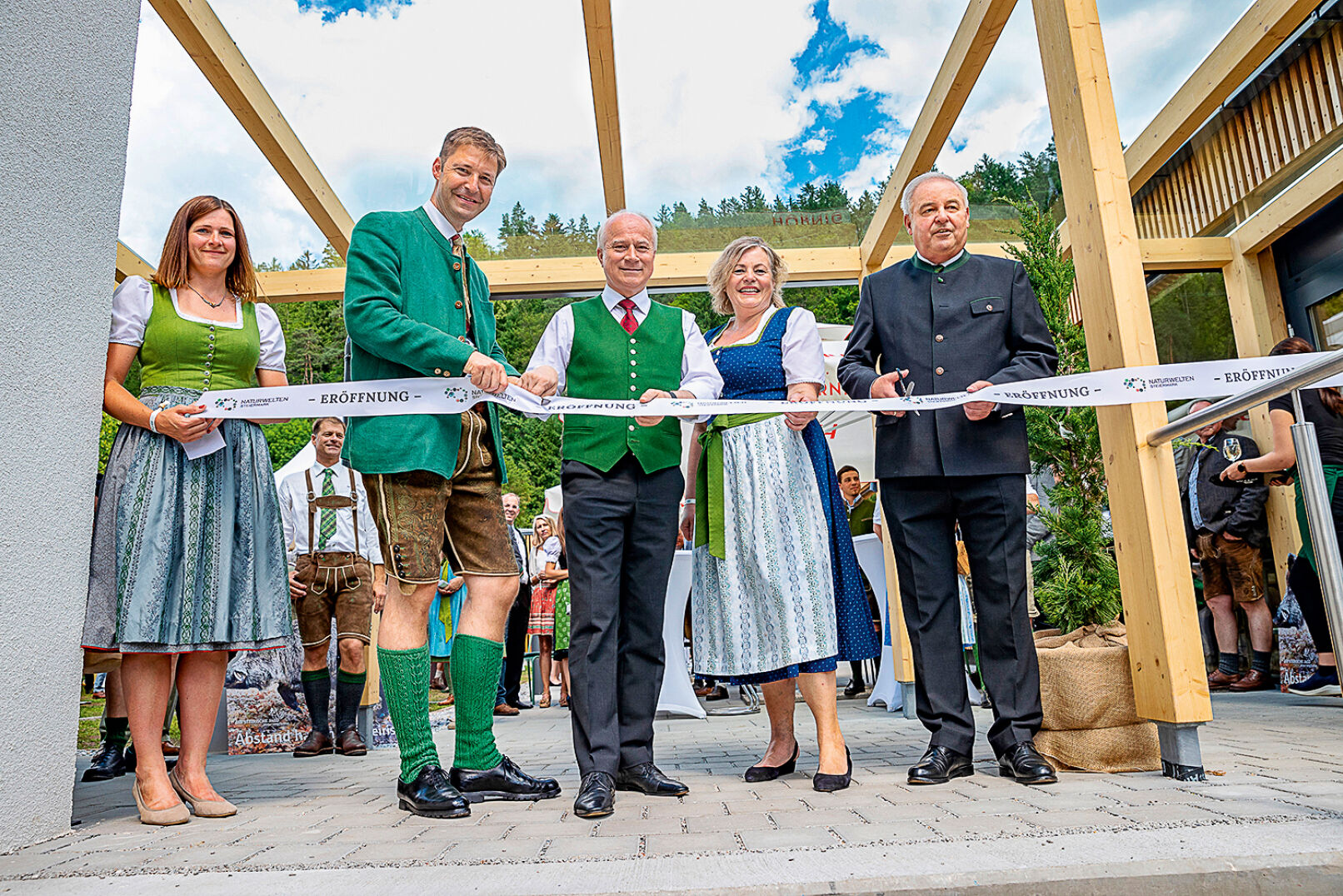 Eröffnung der Naturwelten Steiermark - Kürzlich wurden die Naturwelten Steiermark im Beisein zahlreicher Prominenz feierlich eröffnet.