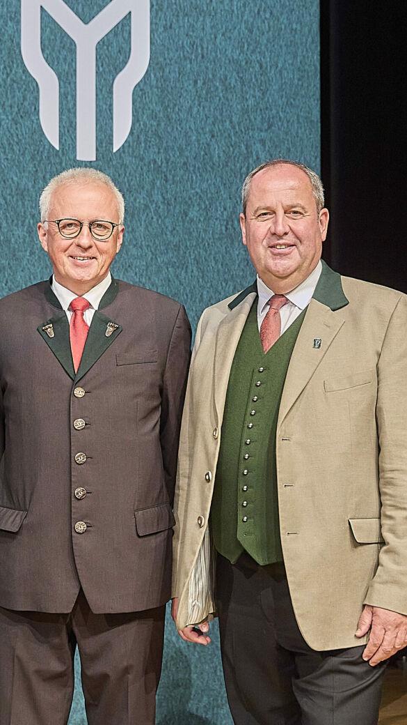 LJM DI Josef Pröll mit seinen neuen Stellvertretern