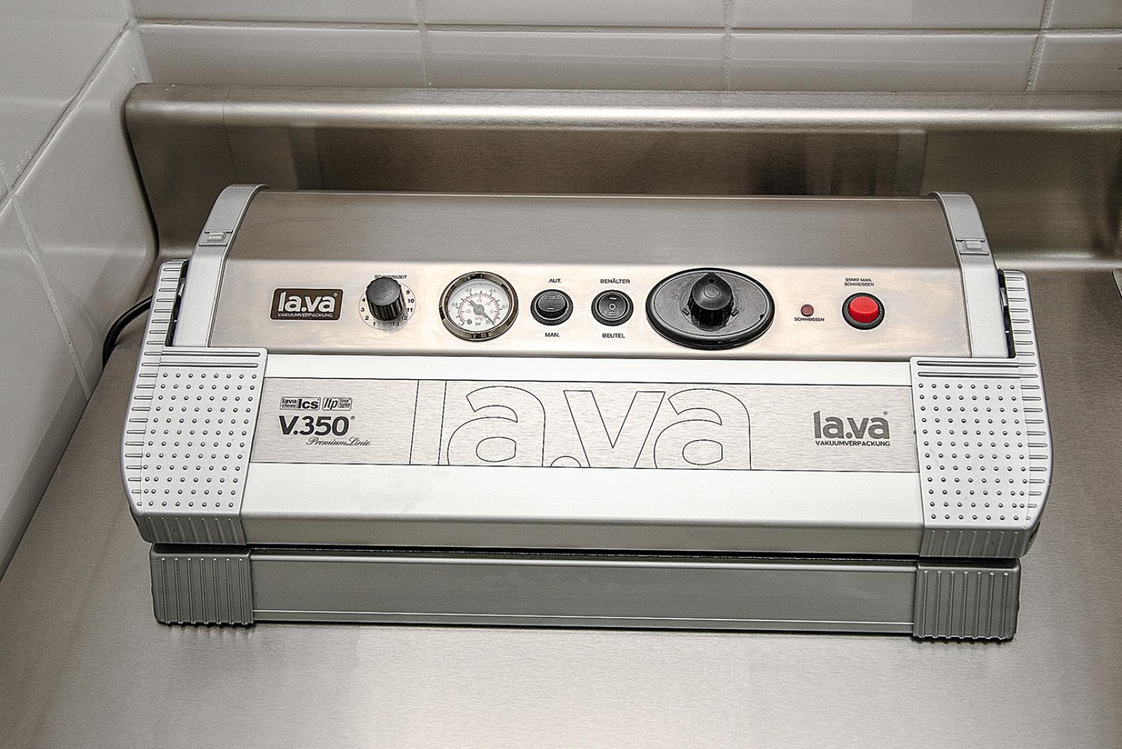 Vakuumiergerät Lava V.350 Premium - © Martin Grasberger