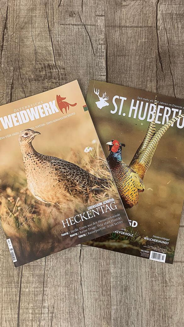 Immer top informiert mit WEIDWERK und St. Hubertus - © Martin Grasberger