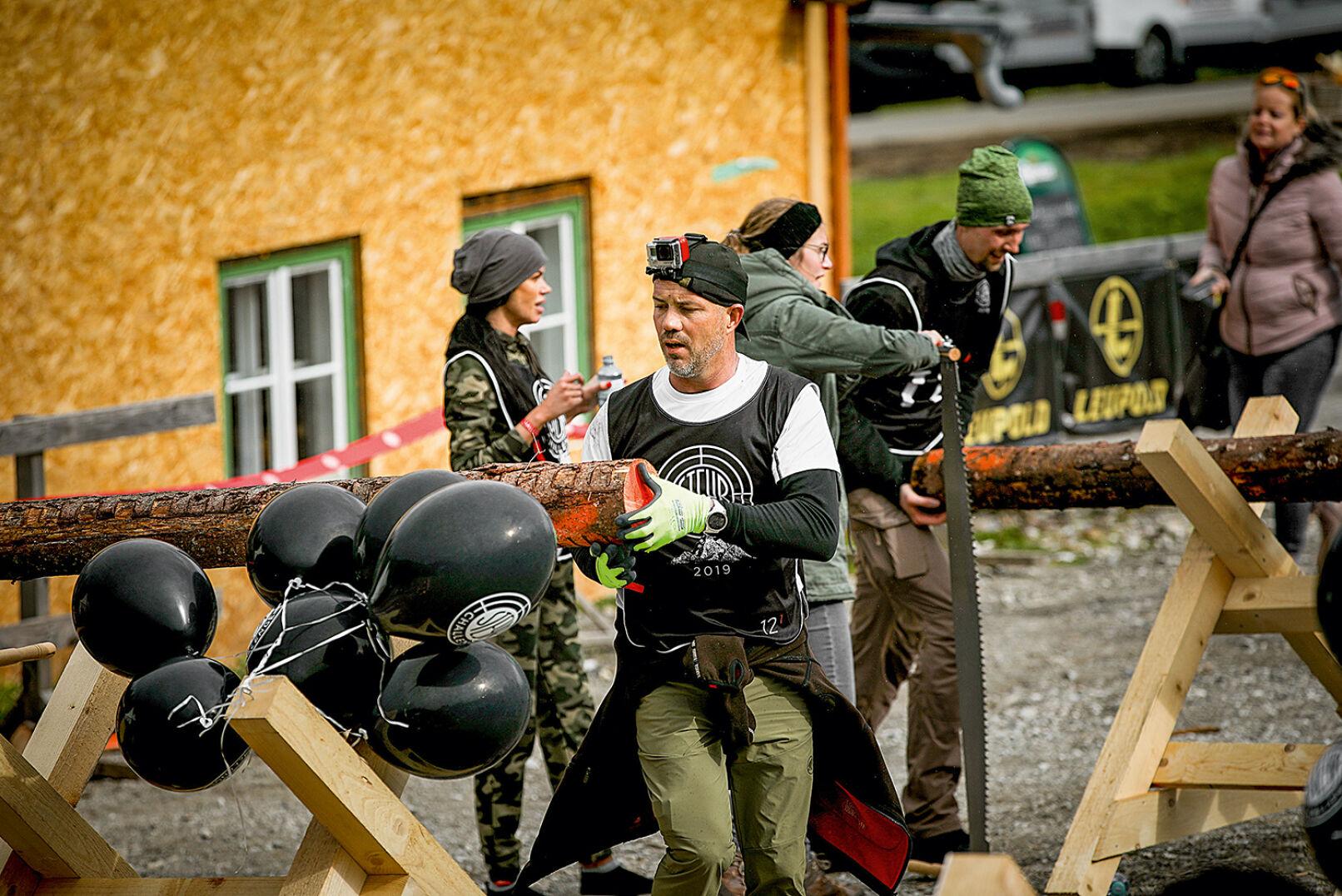 Alle Kräfte noch einmal mobilisieren und dann nur noch ins Ziel!  - © Peter Rigaud