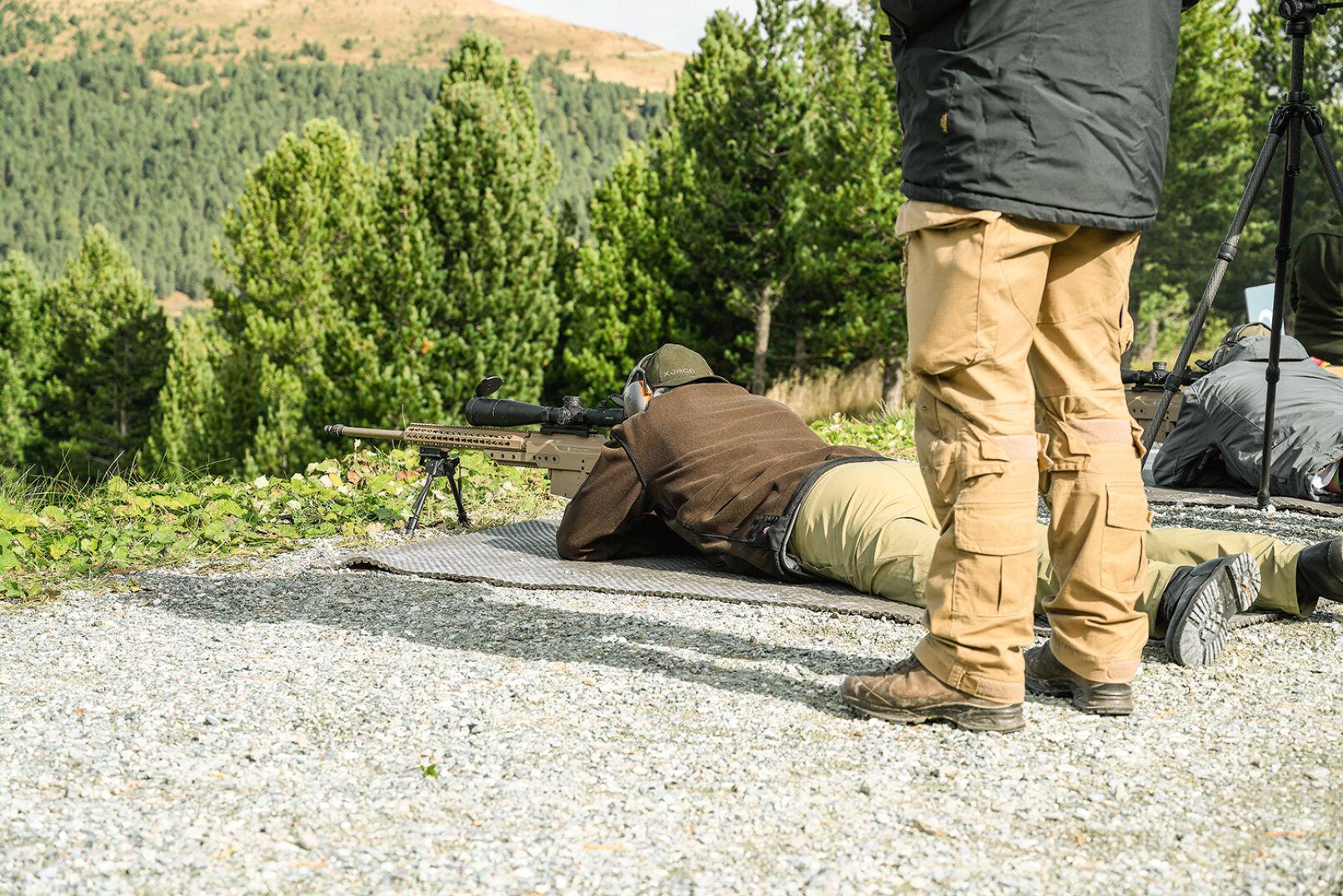 Schießdisziplin 1: liegend, SSG M1, Kal. .338 Lapua Mag., 600 m - © Oliver Deck