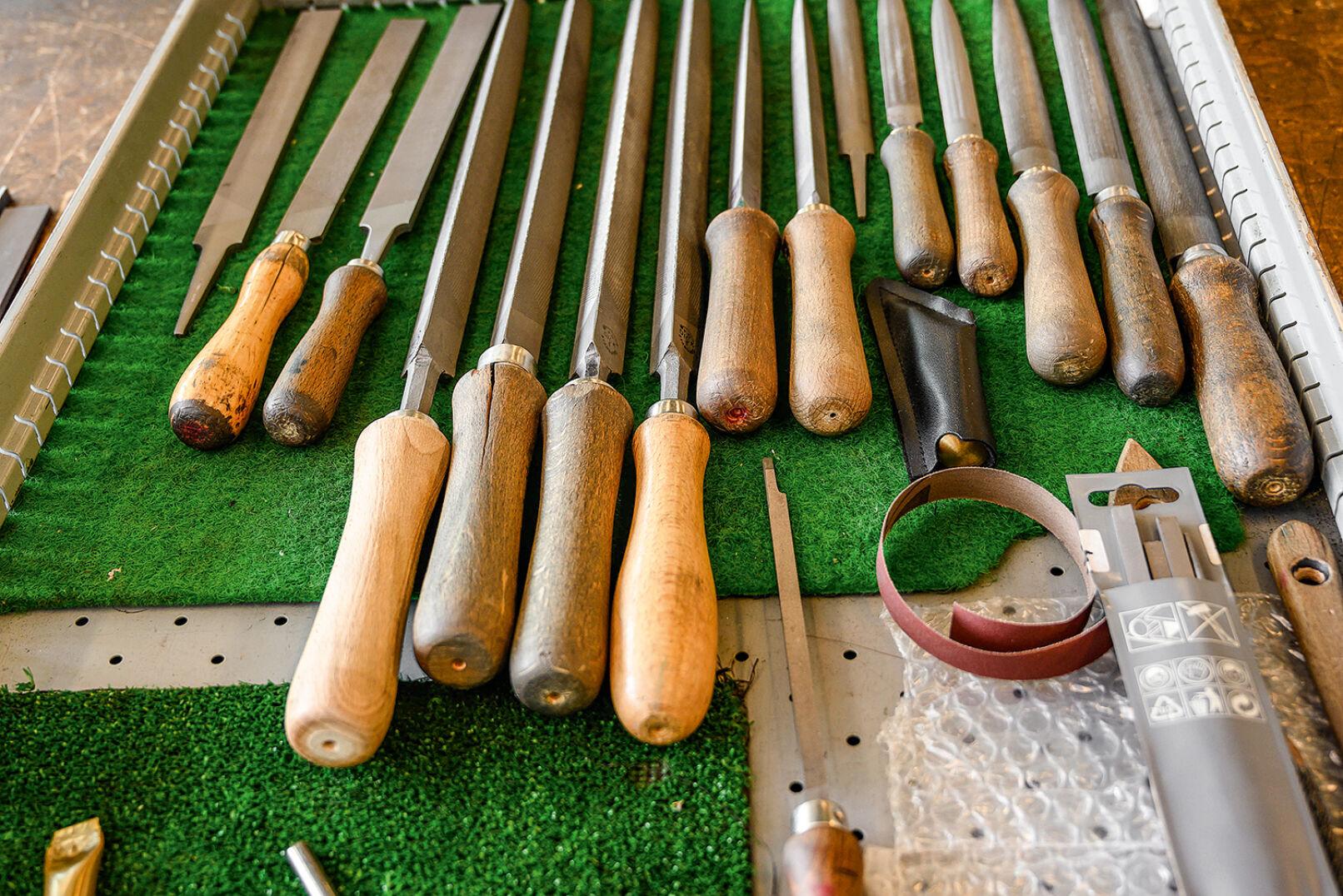 Werkzeug in Reih' und Glied. - © Barbara Marko