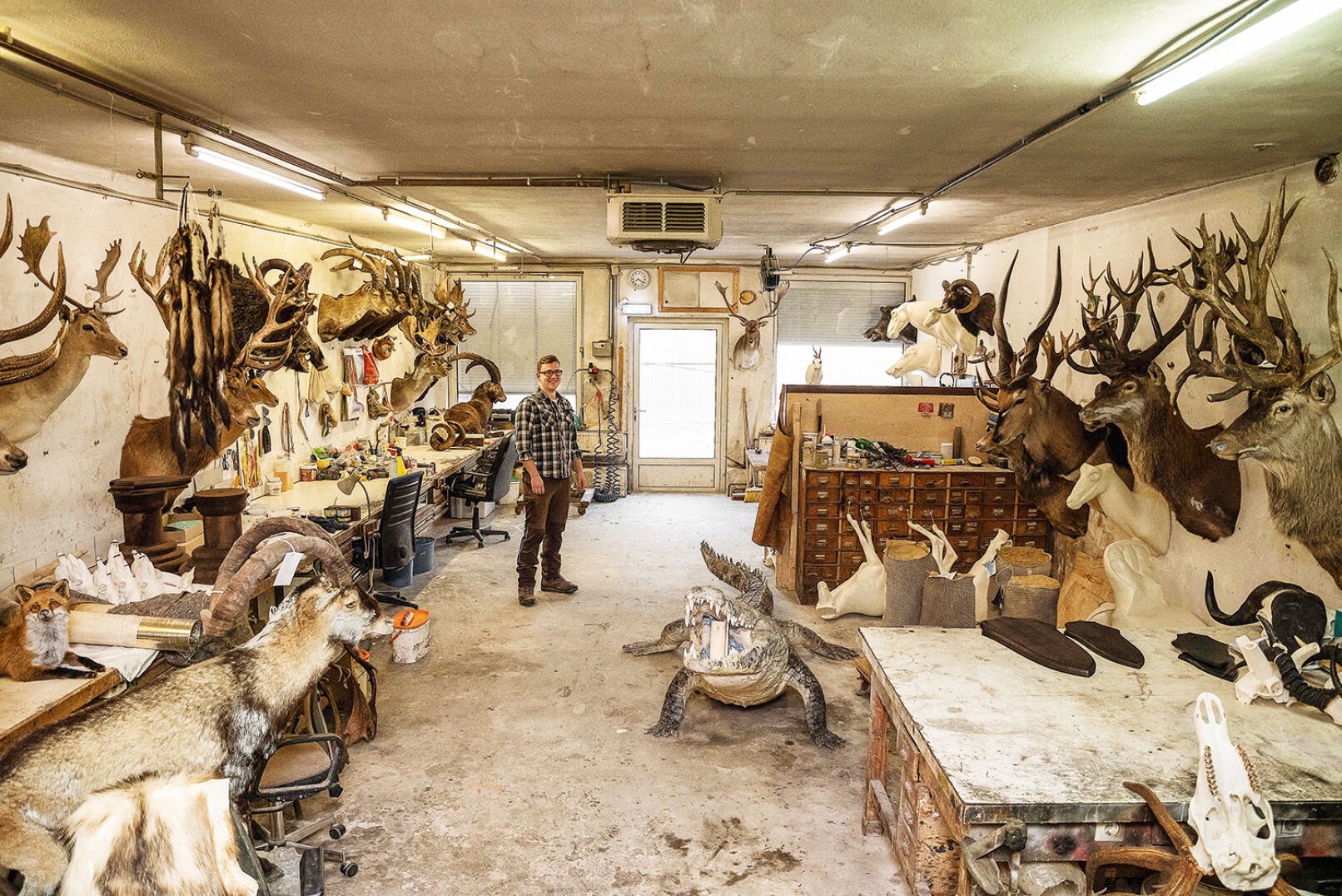Wo Jagderlebnisse zu bleibenden Erinnerungen werden: Die Werkstatt in Großwetzdorf, NÖ. - © Barbara Marko