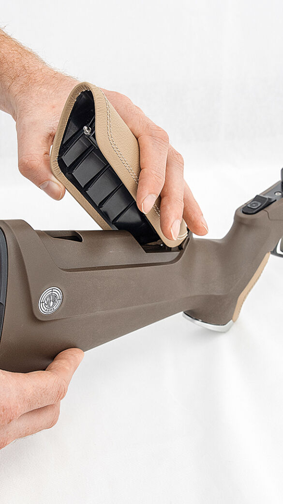 Auch der Schaftrücken und somit die Schafthöhe kann angepasst werden - © Oliver Deck