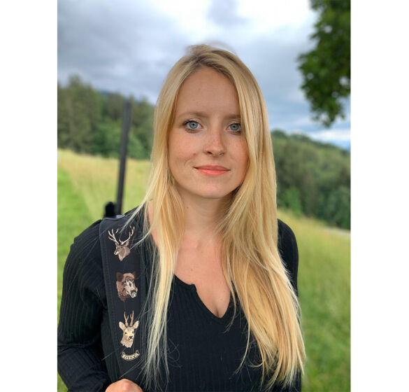 Jagdbotschafterin Célina Bapst