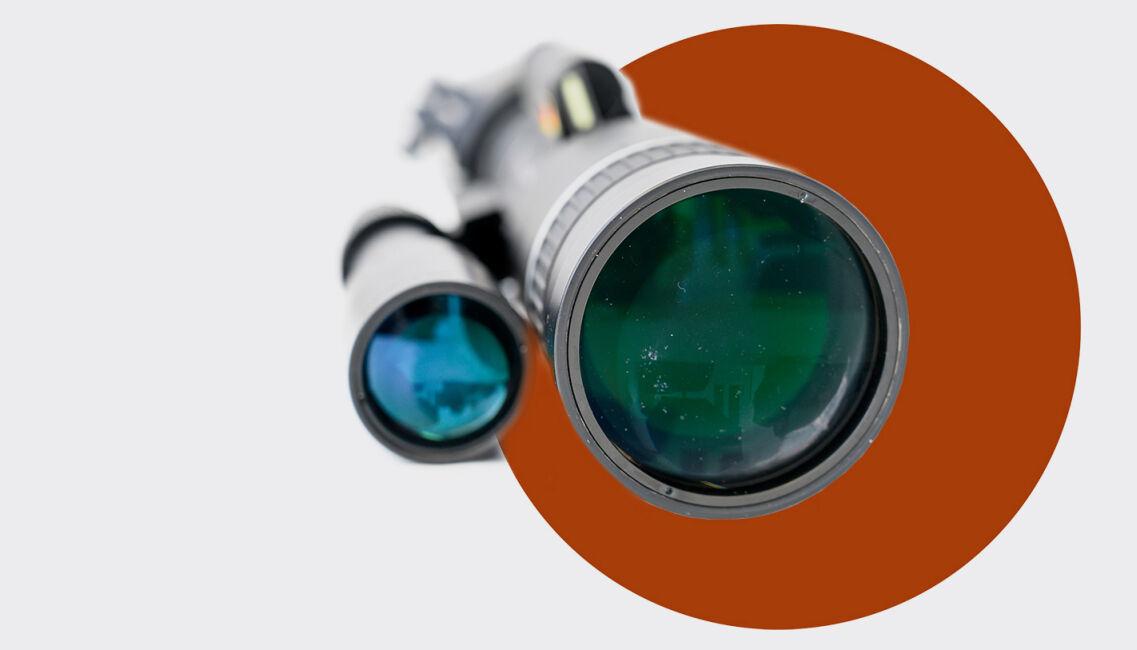 Teaserbild Nightvision Teil 1 - Bildverstärker-Vorsatzgerät: Jahnke DJ-8 NSV 1×56 - © Martin Grasberger