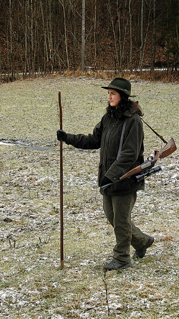 Jahrtausende später: Der Anteil jagender Frauen steigt wieder. - © Clemens Schweighofer