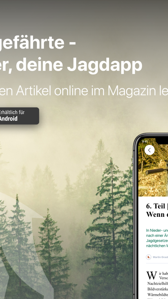 Partnerschaft WEIDWERK & Jagdgefährte - © Jagdgefährte